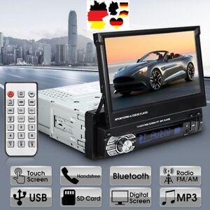 Kamera-Autoradio-7-034-Touchscreen-Bildschirm-Bluetooth-USB-SD-1DIN-Radio-MP5-MP3