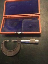 Brown And Sharpe 1 Micrometer