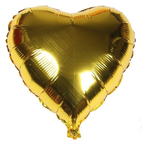 """32/"""" Auto Inflar Globos De Papel De Aluminio Helio Forma Corazón Boda Fiesta Ballons Balon"""