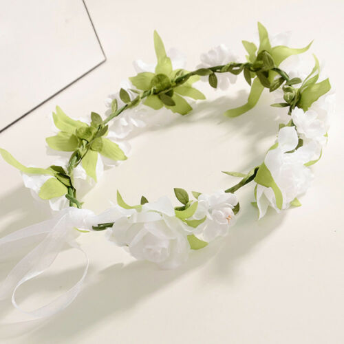 Toddler Baby Kid Girl Wedding Wreath Hairband Floral Garlands Headdress Headband