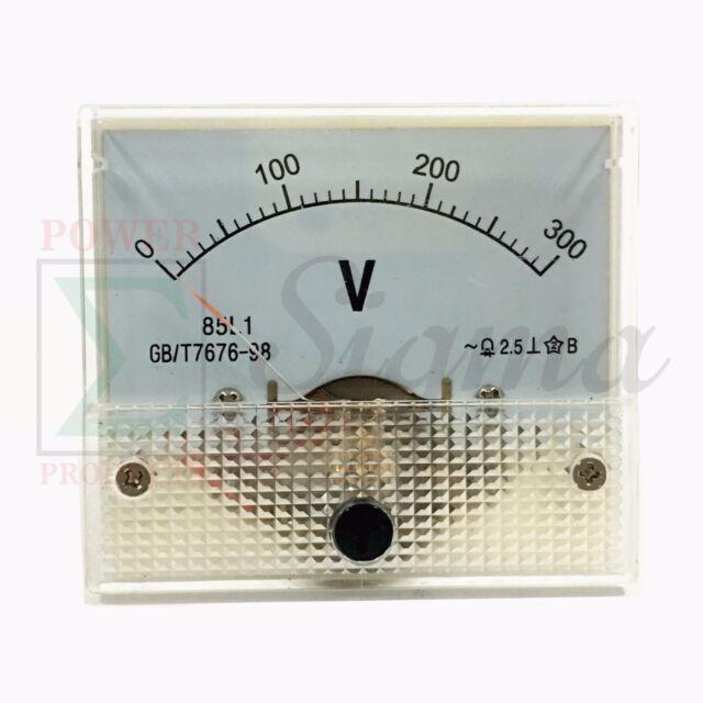 AC 300V Analog Panel Volt Voltage Meter Voltmeter Gauge 85L1 AC 0-300V