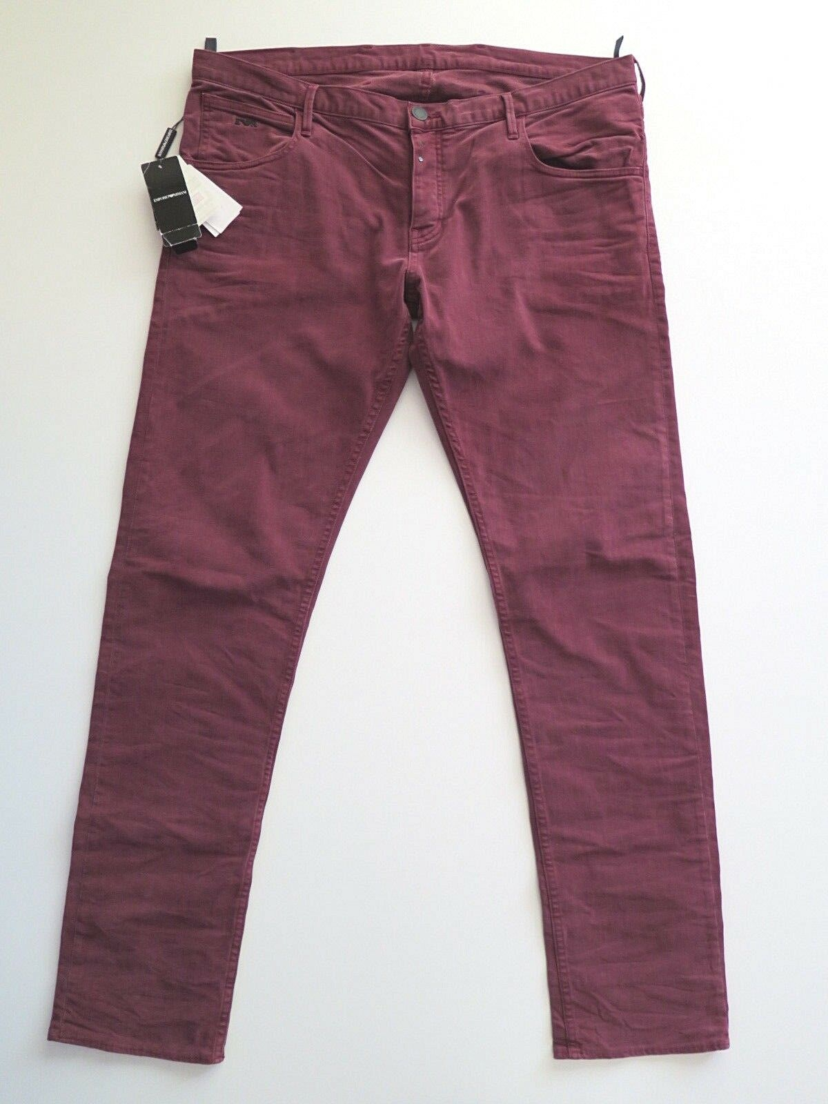NEW Emporio Armani Johnny Slim Fit Stretch Men's Jeans Pant Size 40 - W40 L36
