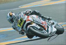 Randy De Puniet Autograph MotoGP Factory HONDA SIGNED 12x8 Photo AFTAL COA Rare