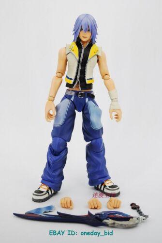 Original Square Enix Play Arts Kai Kingdom Hearts 2 Riku Action figure NO BOX