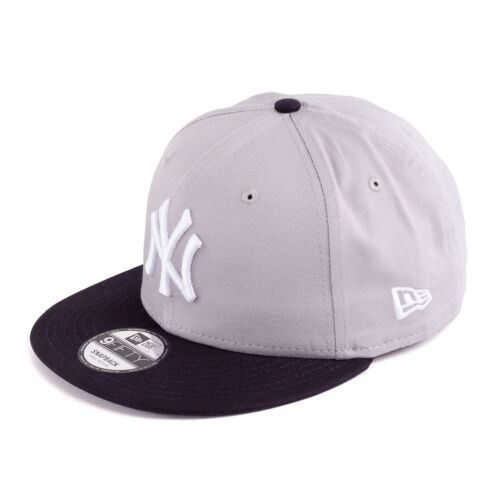 grau//navy 93412 New Era Team Classic New York Yankees Snapback Cap Mütze