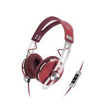 Sennheiser Momentum On-Ear-Kopfhörer rot Ohrbedeckend Kopfhörer - ROT RED NEU