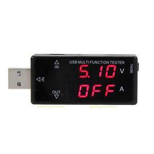 LCD-Display-USB-Tester-3V-30V-Mini-Current-Voltage-Charger-Tester-Multifunction