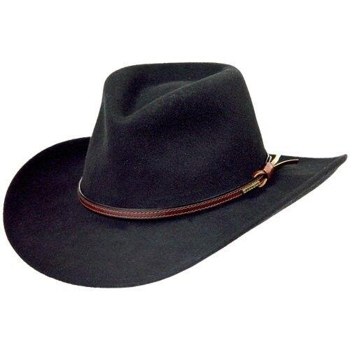 Stetson Bozeuomo Crushable Cowboy Western ha XL 7 58  7 34 fatto in USA