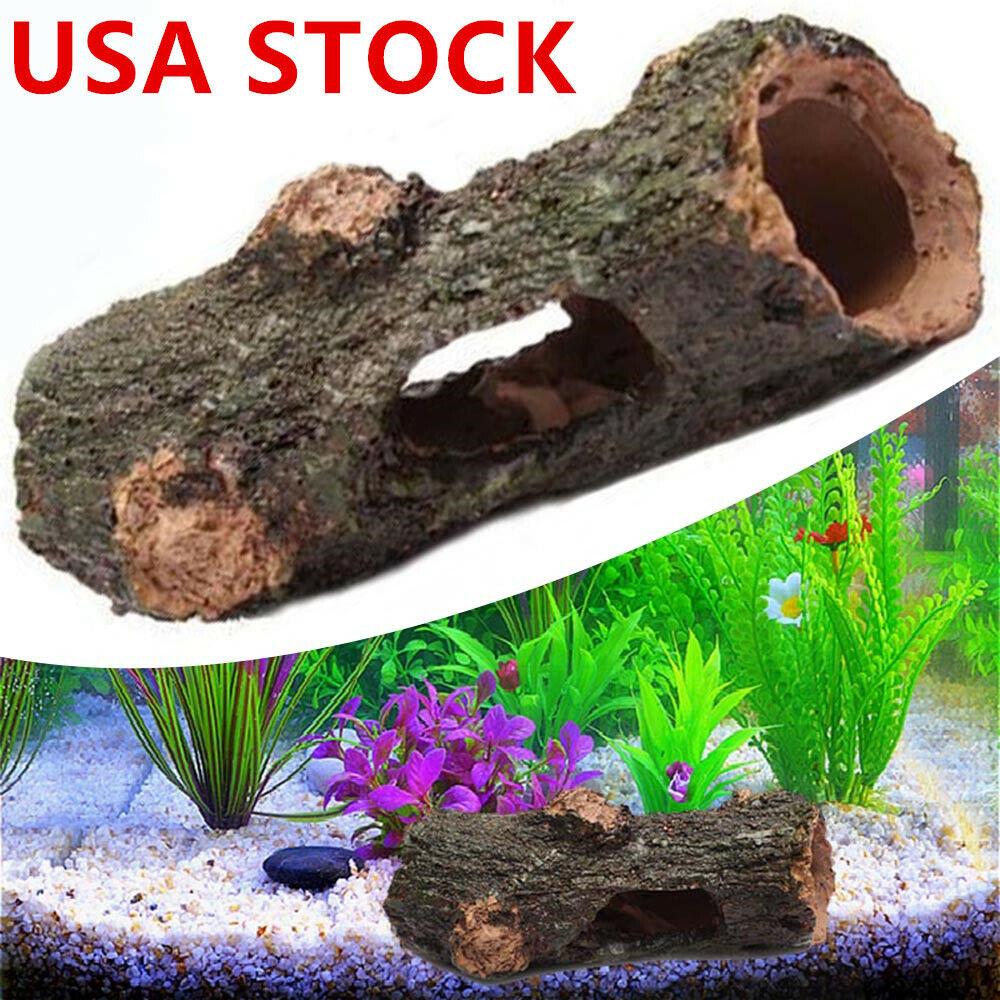 Small Aquarium Fish Tank Ornament Artificial Bridge Decoration Accessories Us Cn For Sale Online Ebay