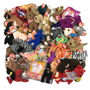 112801a8fa1 TY Beanie Babies - Huge Lot of 20 - Rare Retired   Modern ...