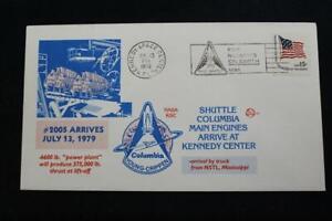 Espace-Housse-1979-Navette-Columbia-Principal-Moteurs-Arrive-Kennedy-Centre