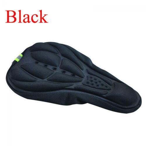 Soft Sports Silicone Saddle Cover  Bike Seat Pad Gel Cushion Cycling