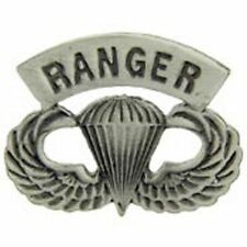 US ARMY RANGER SPECIAL FORCES PARA AIRBORNE WINGS PARATROOPER Hat Lapel Pin