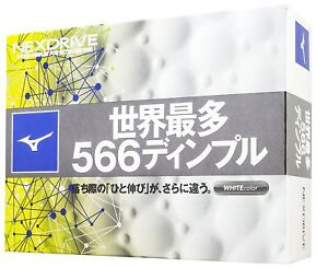 Mizuno-JAPAN-JPX-NEXDRIVE-Golf-Ball-Balls-2018-Japanize-Model-1-Dozen-White