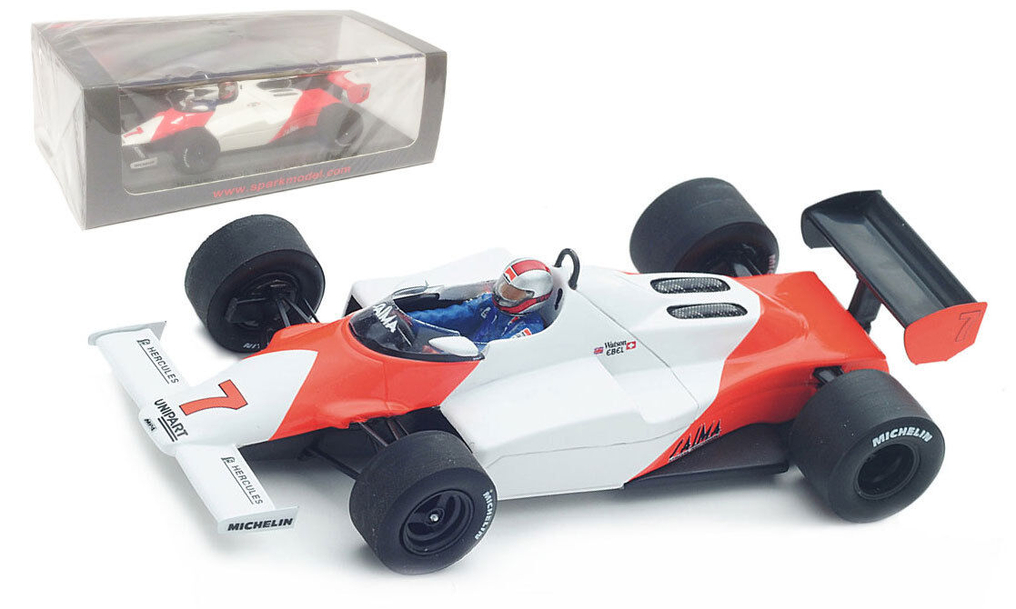 Spark S4841 McLaren MP4-1C Winner US West GP 1983 - John Watson 1 43 Scale
