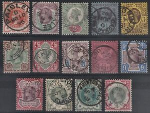 1887-1900-JUBILEE-SG197-214-FINE-USED-SET-OF-14-VALUES-WITH-CDS-CANCELLATIONS
