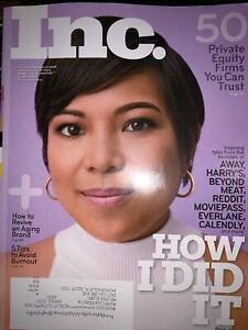 Details about Inc  Magazine July August 2019 How I Did It Away Jen Rubio  Private Equity Firms