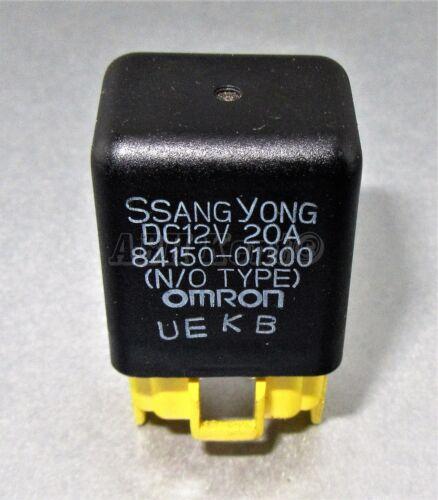 95-05 733-Ssangyong Multi-Use 4-Pin Relay Omron 84150-01300 Korea N//O Type 20A