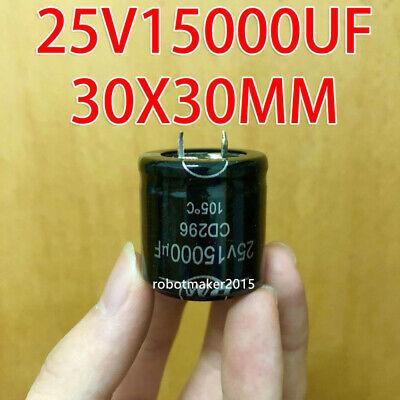 2 Pins 10000uf 10000mfd 50V 30*50 Electrolytic Capacitor CD293 series 85℃