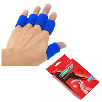 Finger Protective Sleeves Elastic Neoprene Finger Guard Gears Volleyball 10 Pcs