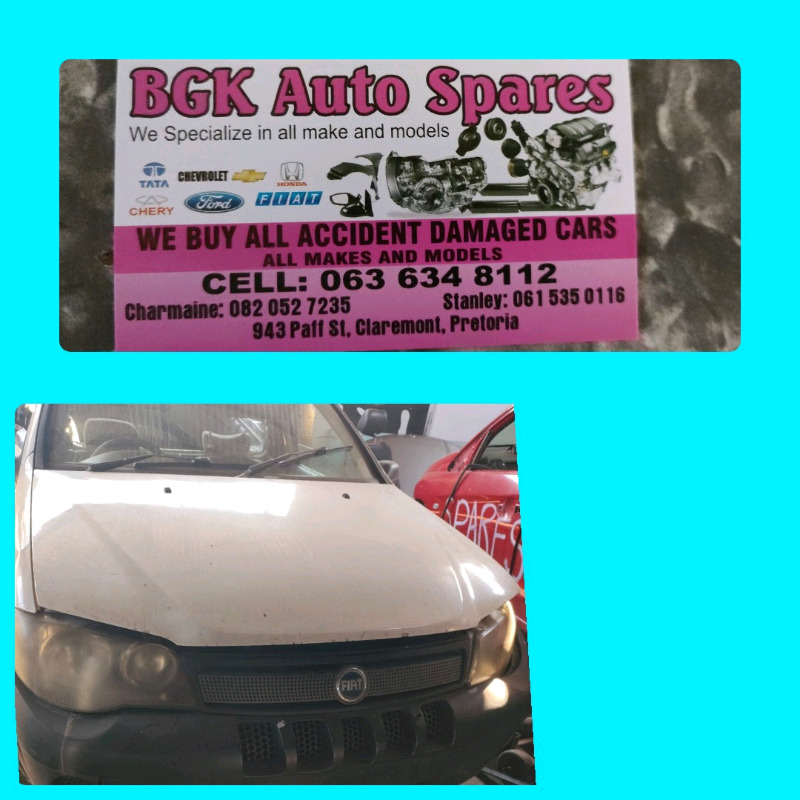 Fiat strada bakkie spares available