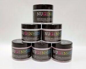 NUGENESIS-Dip-Dipping-Powder-PINKS-amp-WHITES-1-5oz-jar-Choose-your-Colors