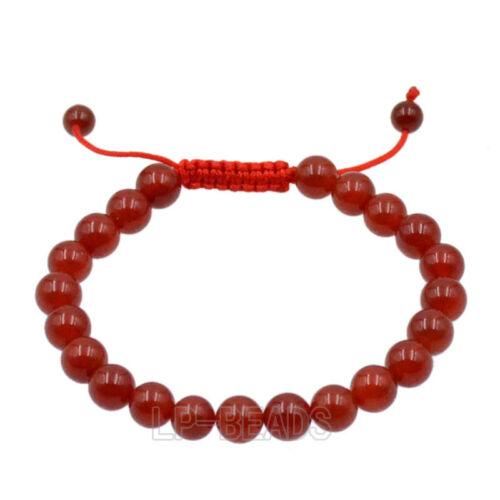Men/'s 8 mm naturel pierres précieuses perles Yoga Mala Perles Bijoux Bracelet