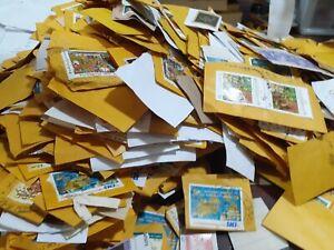 1KG-1000G-sri-lanka-used-stamps-kiloware-onpaper-lot-collection-unsorted