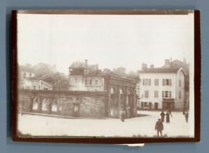 France-Dax-Fontaine-d-039-eau-chaude-Vintage-citrate-print-Landes-Tirage