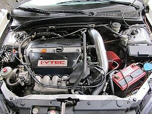 Cold Air Intake Kit Black For Integra DC Acura RSX K Long - Acura integra cold air intake