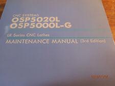 Okuma CNC System OSP5020L OSP5000L-G LR Series CNC Lathes Maintenance Manual
