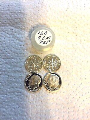 1962 P Gorgeous Original Unpicked Gem BU Roll of 50 Roosevelt Dimes PQ Coins 90/%