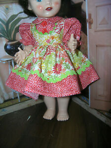 2-pc-Dress-Bloomer-Set-Doll-clothes-fits-16-034-Ideal-Saucy-Walker-or-Pedigree