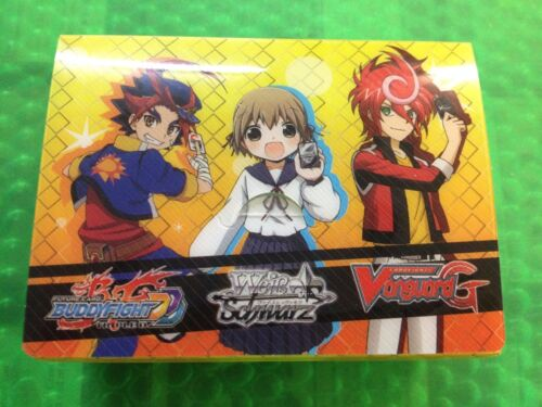 Deck box  Chrono Shindo Bushiroad Vanguard Buddyfight Weib Scwarz  Deck Holder