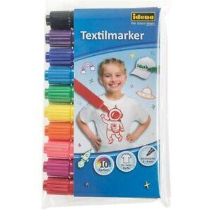 Idena-Textilmarker-10er-farbig-sortiert-60035