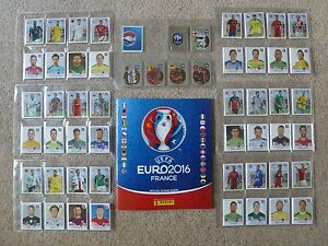 PICK 50 x JUST £4.99 - ALL 680 NUMBERS INC SHINY FOILS - PANINI EURO 2016 FRANCE