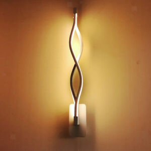 Applique-Murale-LED-Decoratif-Lampe-Nuit-pour-Couloir-Escalier-Chambre-de-Vagues