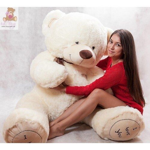 Riesen Teddybär 190 cm  BIG XXL XXL XXL Kuschelweich Plüschtier Stofftier Geschenk 12d903