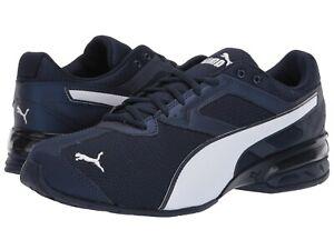 Men-039-s-Shoes-PUMA-TAZON-6-ZAG-Run-Train-Sneakers-192489-01-PEACOAT-PUMA-BLACK