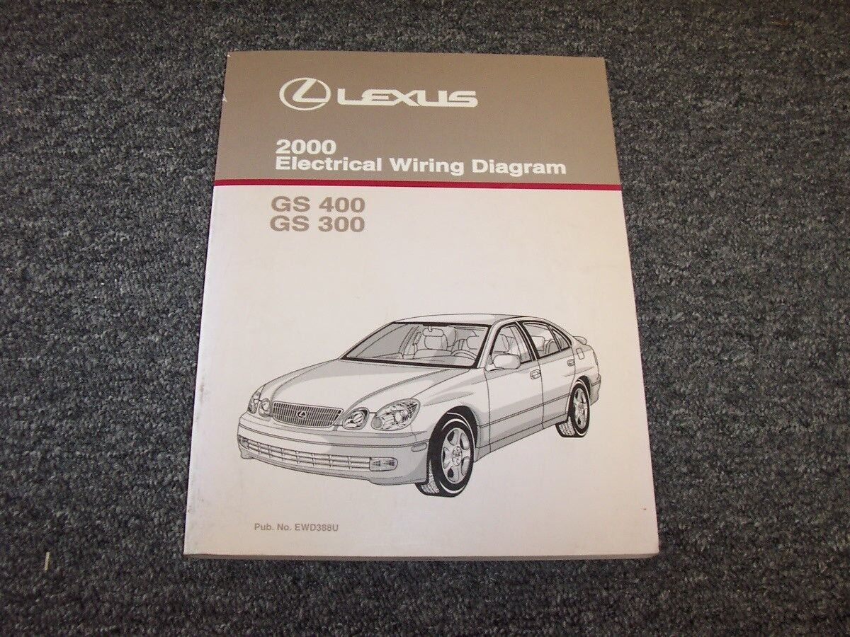 2000 lexus gs 300 400 electrical wiring diagram manual original catalina 22 electrical  wiring diagram 2000