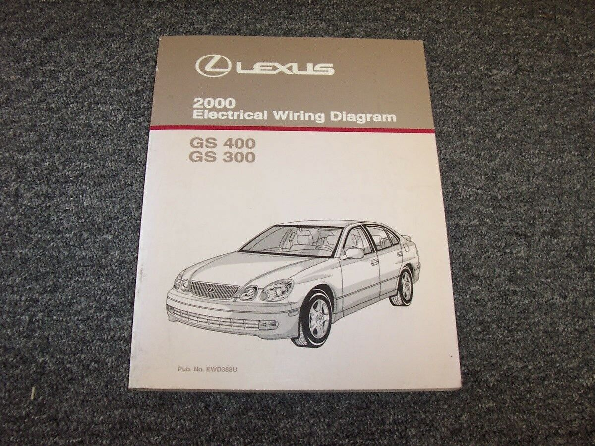 2000 Lexus GS 300 400 Electrical Wiring Diagram Manual Original Gs300 Gs400  | eBay
