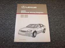 2000 lexus gs 300 400 electrical wiring diagram manual original, Wiring diagram