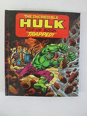 "1981982 The Incredible Hulk Pop-Up Book ""Trapped"" (1)"