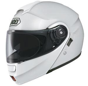 SHOEI-NEOTEC-FLIP-UP-BIANCO-Casco-Da-Moto-Motocicletta