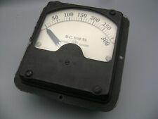 Vintage General Electric Dc Volts Meter 0 300 Type Dd 7 Model 8dd7vas36