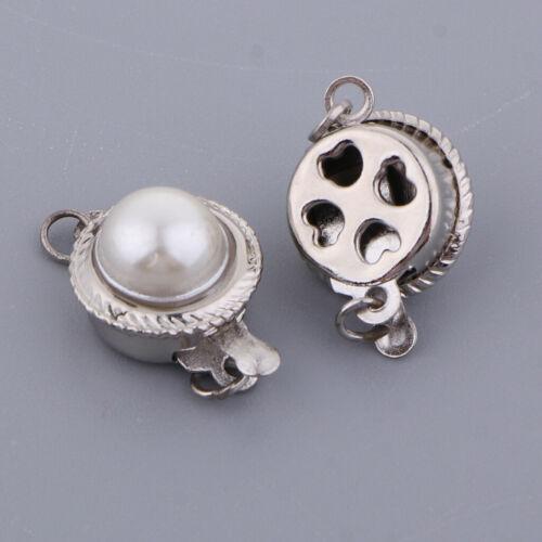 5 sätze Plug in perlenverschluss halskette extender kette armband schmuck