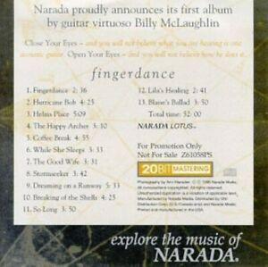 Fingerdance - Music CD - Billy McLaughlin -  1998-02-02 - NARADA PRODUCTIONS - V