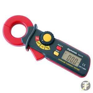 Alphatek Tek 775 Ac Terre Fuite Actuel Pince Amperemetrique Testeur 200ma - 200