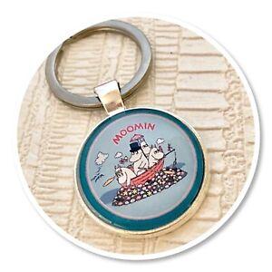 Moomins  keyring key ring Moomin & friends (c)