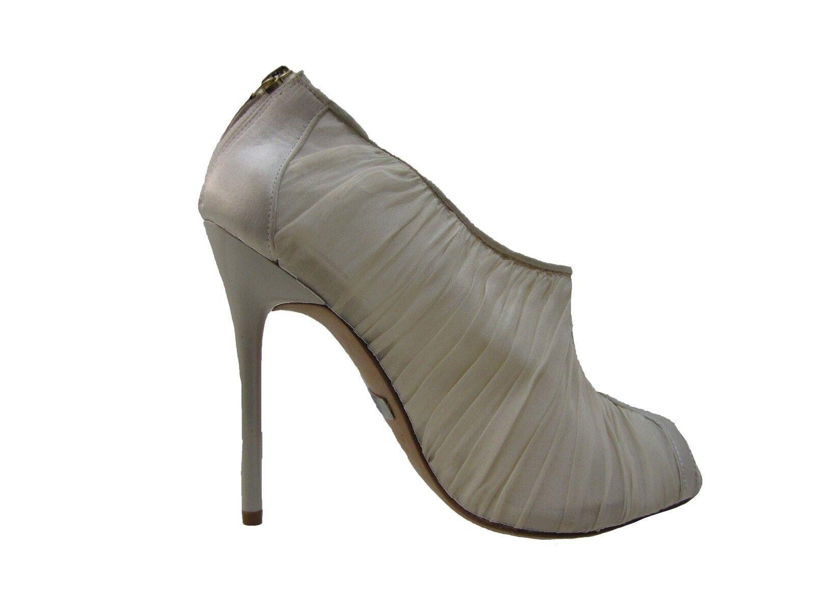 Badgley Mischka damen Dariene Dariene Dariene Peep Toe Back Zip Formal Fashion Dress Heels 83ba2e